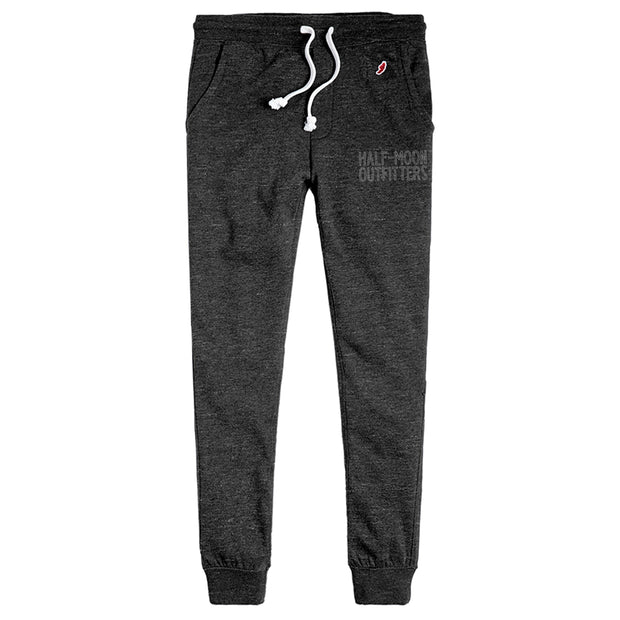 Half-Moon Outfitters Block Outline Tri-Blend Joggers Heather Onyx