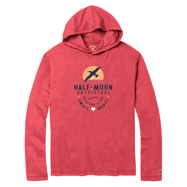 vin-chateau-chalon Albatross Moon Pullover Hoody Nanutcket Red