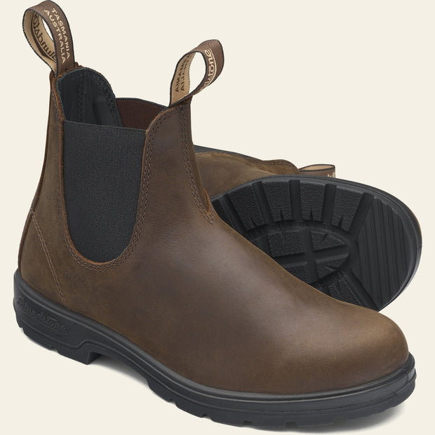 Blundstone 1609 Classic Chelsea Boots for Women Antique Brown
