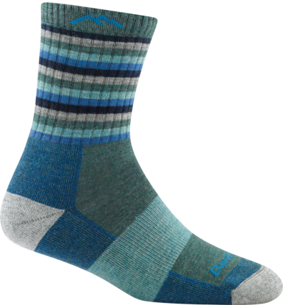 STRIPES MICRO CREW CUSHION SOCK FOR WOMEN