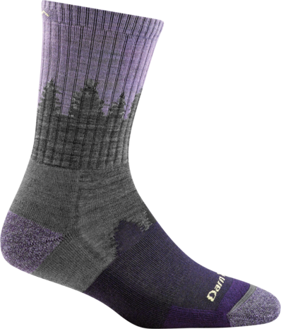 TREELINE MICRO CREW CUSHION SOCK FOR WOMEN