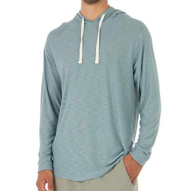 Bamboo Slub Hoody for Men