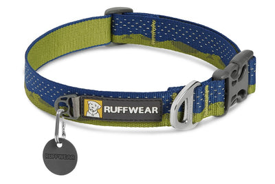 Ruffwear Crag Reflective Dog Collar Green Hills