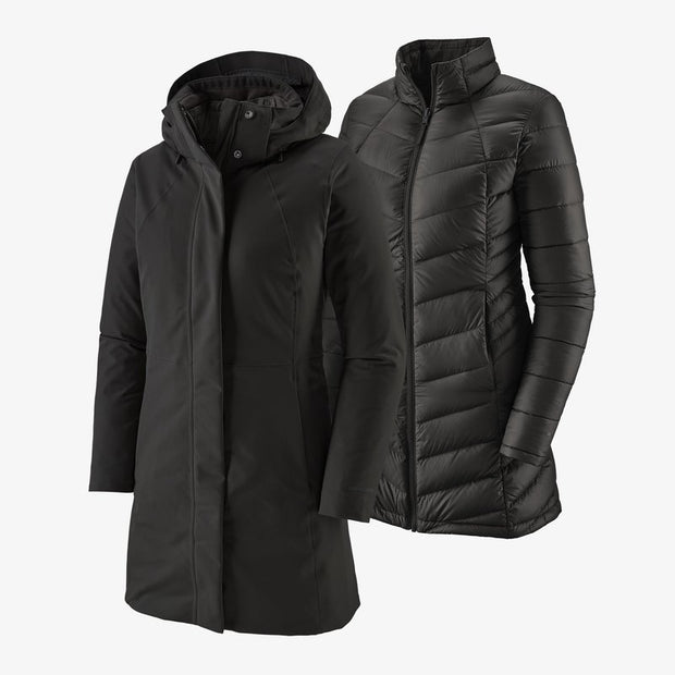 Patagonia Tres 3-in-1 Parka for Women Black