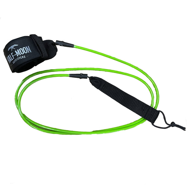 Half-Moon Outfitters Blocksurf Blazin 7' Surfboard Leash Green