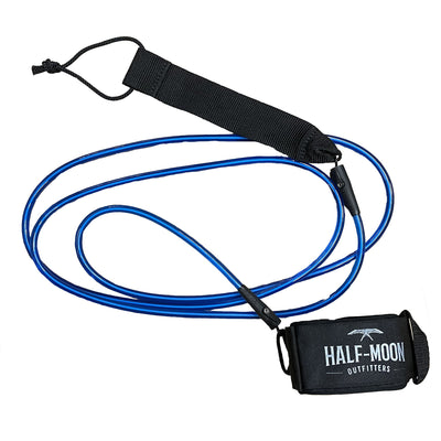 Half-Moon Outfitters Blocksurf Blazin 8' Surfboard Leash Blue