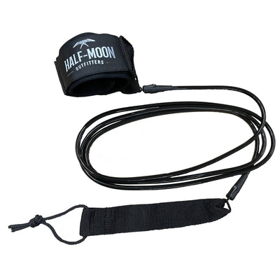 Half-Moon Outfitters Blocksurf Blazin 9' Surfboard Leash Black
