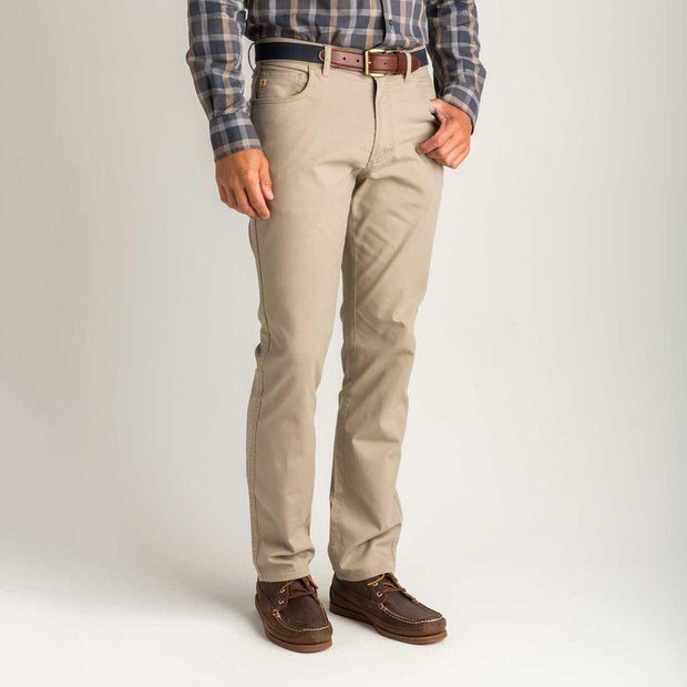 1865 Five-Pocket Pinpoint Canvas Pants for Men