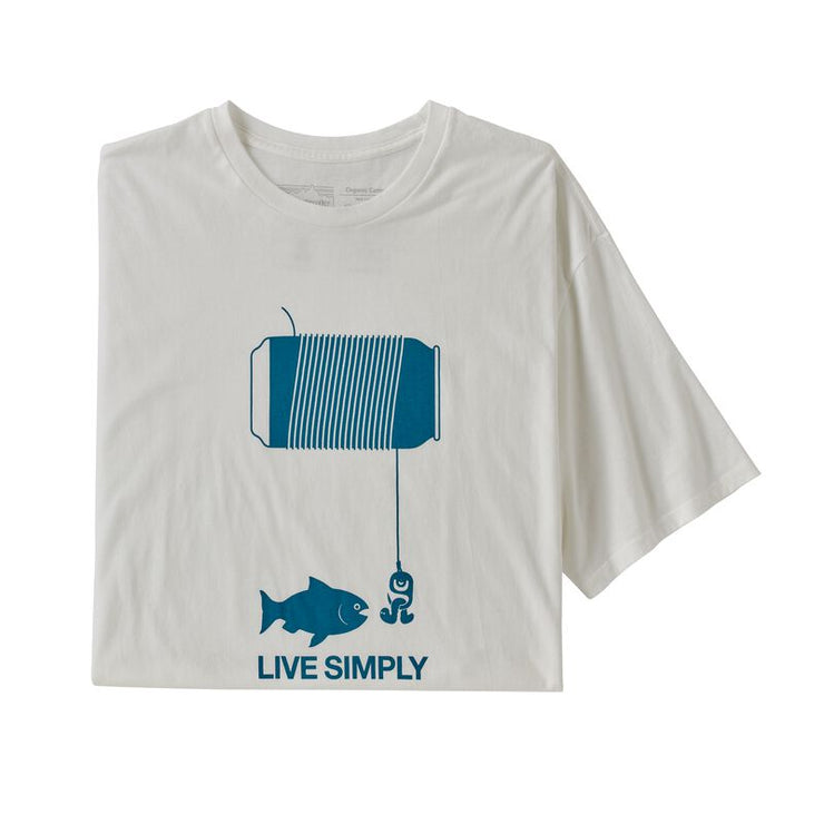Live Simply Happy Hour Organic T-Shirt for Men (Past Season)