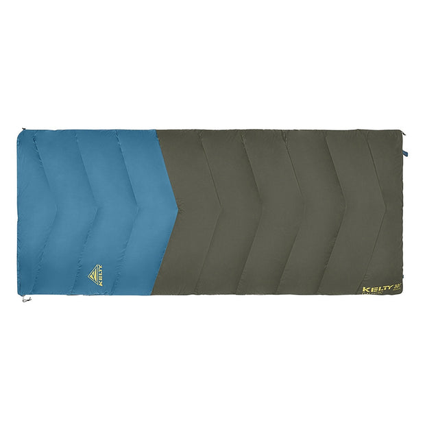 Kelty Galactic 30 Down Sleeping Bag Peat/Deep Teal