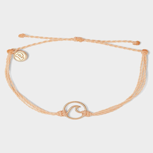 Rose Gold Wave Charm