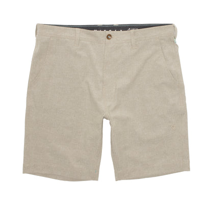 "Vissla Canyons Hybrid 17"" Walkshort for Boys Light Khaki 2"