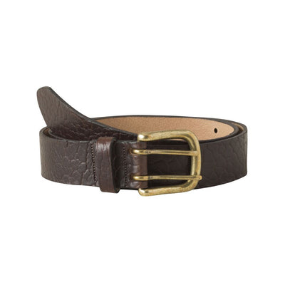Vintage Brass Bison Belt for Men