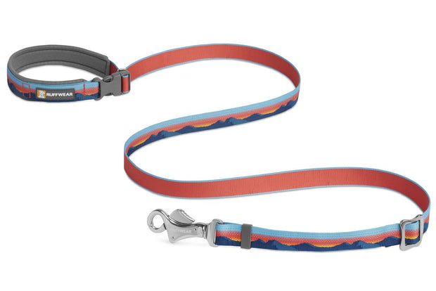 Ruffwear Crag Reflective Dog Leash Sunset