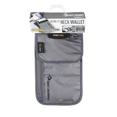 TRAVELLING LIGHT RFID NECK WALLET
