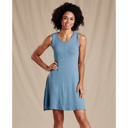 Daisy Rib Sleeveless Dress for Women