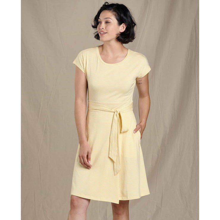 Cue Wrap Short Sleeve Dress for Women
