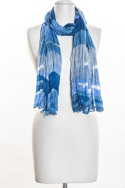 Tonal Stripes Scarf for Women