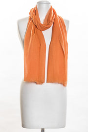 Solid Color Scarf for Women