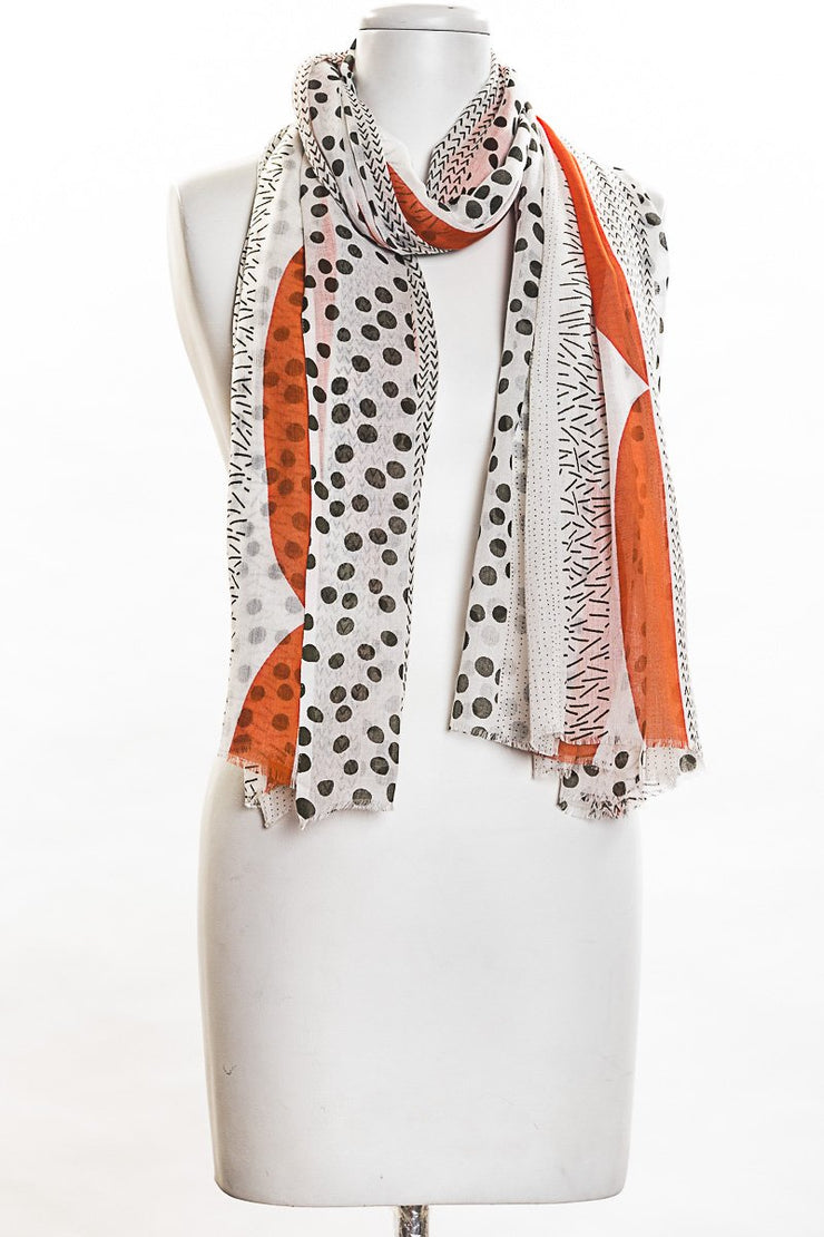 Pop Of Color Scarf for Women