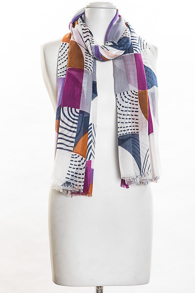 Semi Circle Pareo Scarf for Women