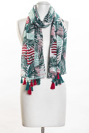 Tropic Stripes Scarf for Women