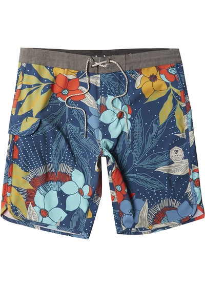 "Vissla Mo Bettah 17"" Boardshorts for Boys Dark Denim"