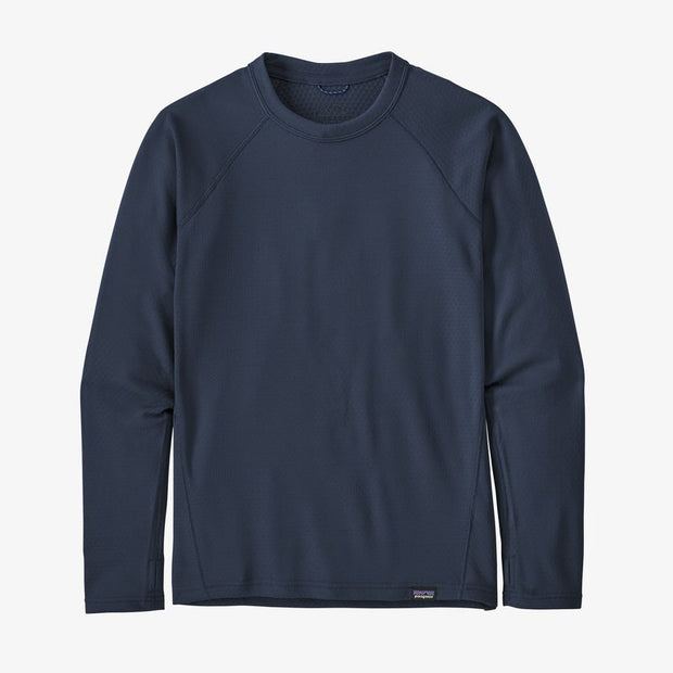 Patagonia Capilene Midweight Crew for Kids New Navy