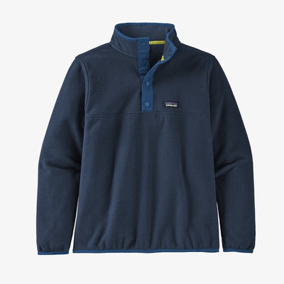 Patagonia Micro D Snap-T Fleece Pullover for Boys New Navy