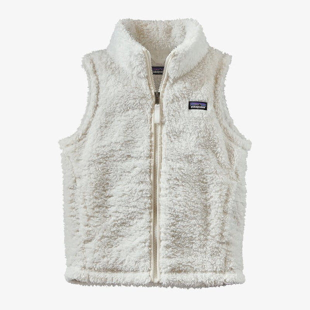 Patagonia Los Gatos Fleece Vest for Girls Birch White