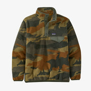 Patagonia Lightweight Synchilla Snap-T Fleece Pullover for Boys Kansas Sky Kelp Forest