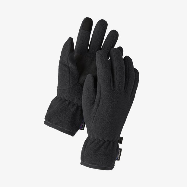 Patagonia Synchilla Fleece Gloves for Kids Black