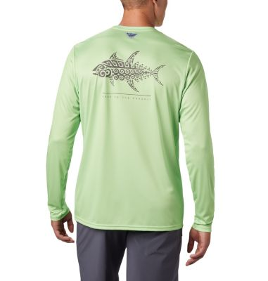 Terminal Tackle PFG Tribal Fish Long Sleeve for Men