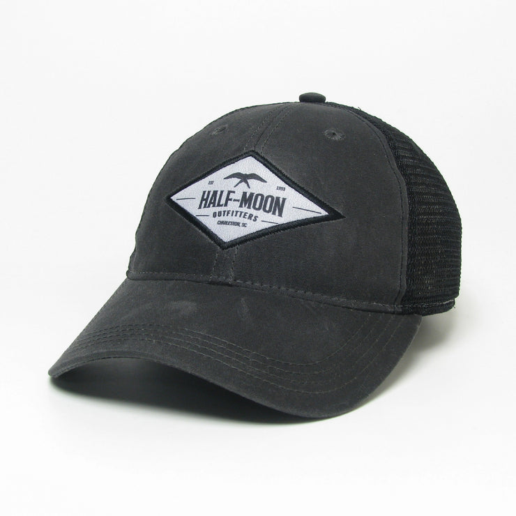 Diamond Bird Waxed Cotton Hat