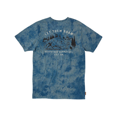 Bison Cloud Wash Tee for Men