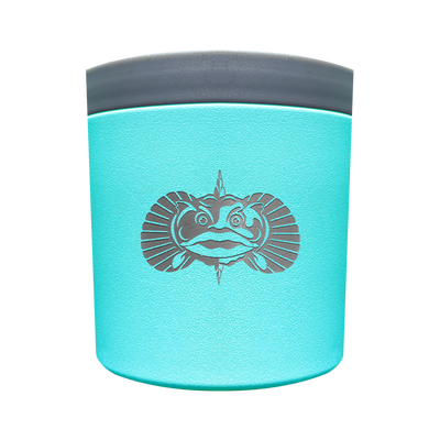 Toadfish Outfitters Anchor Universal Non-Tipping Cup Holder Teal