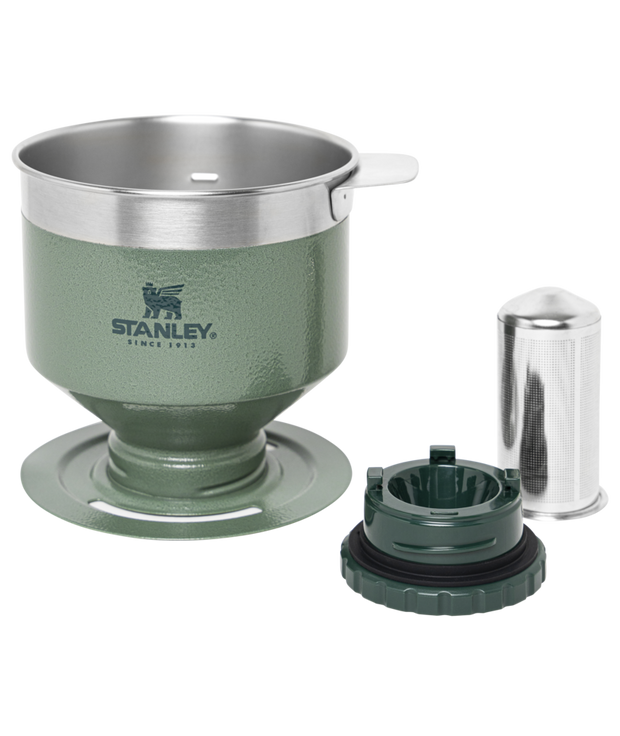 Stanley Classic Perfect-Brew Pour Over Hammertone Green