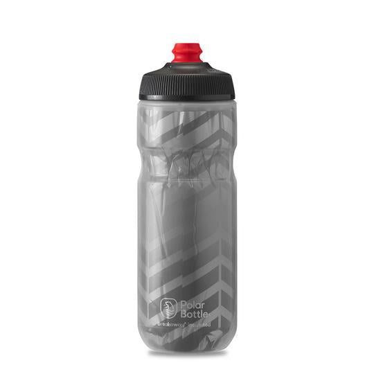 Polar Bottle Breakaway Insulated 20 oz Charcoal Silver Bolt