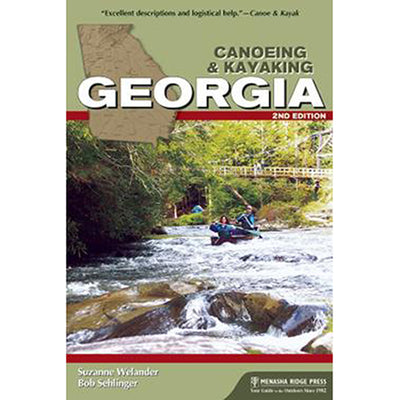 Canoeing & Kayaking Georgia, 2nd edition