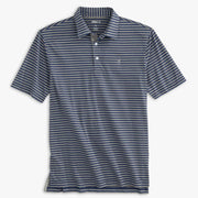 SMITH STRIPED JERSEY POLO SHIRT FOR MEN