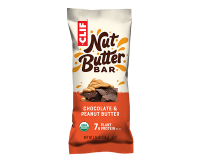 CHOCOLATE & PEANUT BUTTER-NUT BUTTER FILLED