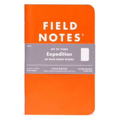 EXPEDITION MEMO BOOKS