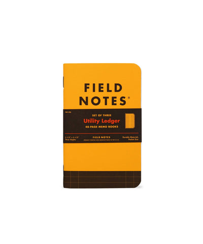 UTILITY LEDGER BOOKS