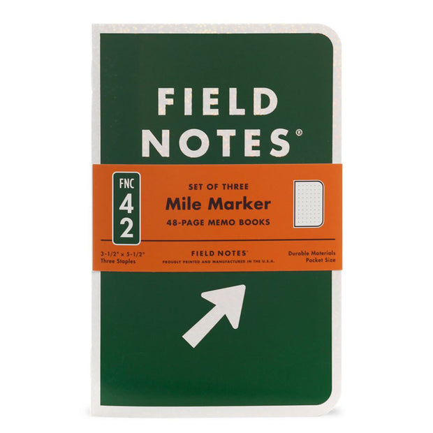 MILE MARKER MEMO BOOKS