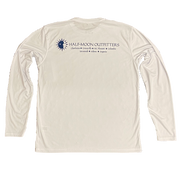 Half-Moon Outfitters Vapor Sun Protection Long Sleeve T-Shirt White