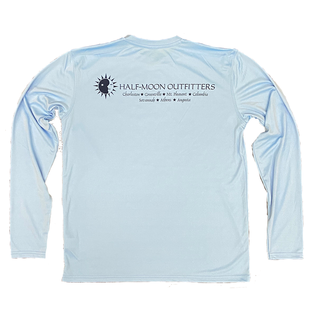 Half-Moon Outfitters Vapor Sun Protection Long Sleeve T-Shirt Columbia Blue