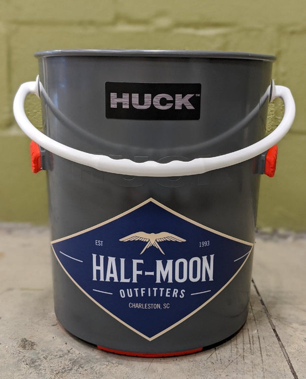 Huck Bucket Half-Moon logo Optimus Red