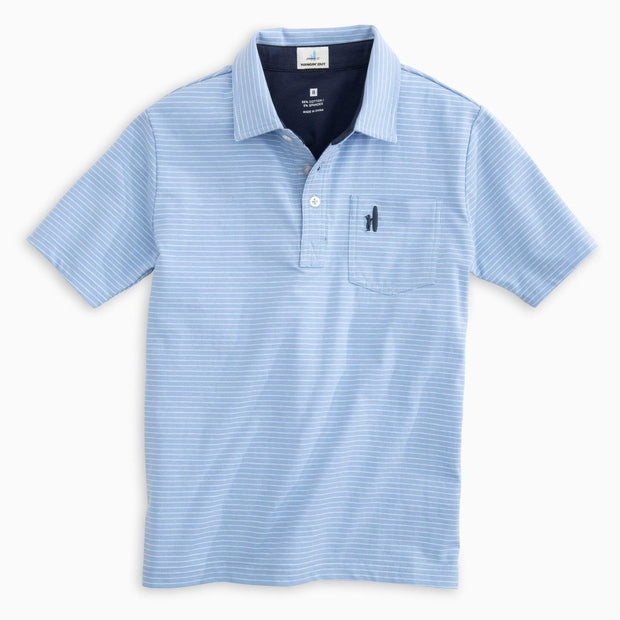 CLIFFS STRIPE ORIGINAL JR. POLO SHIRT FOR KIDS