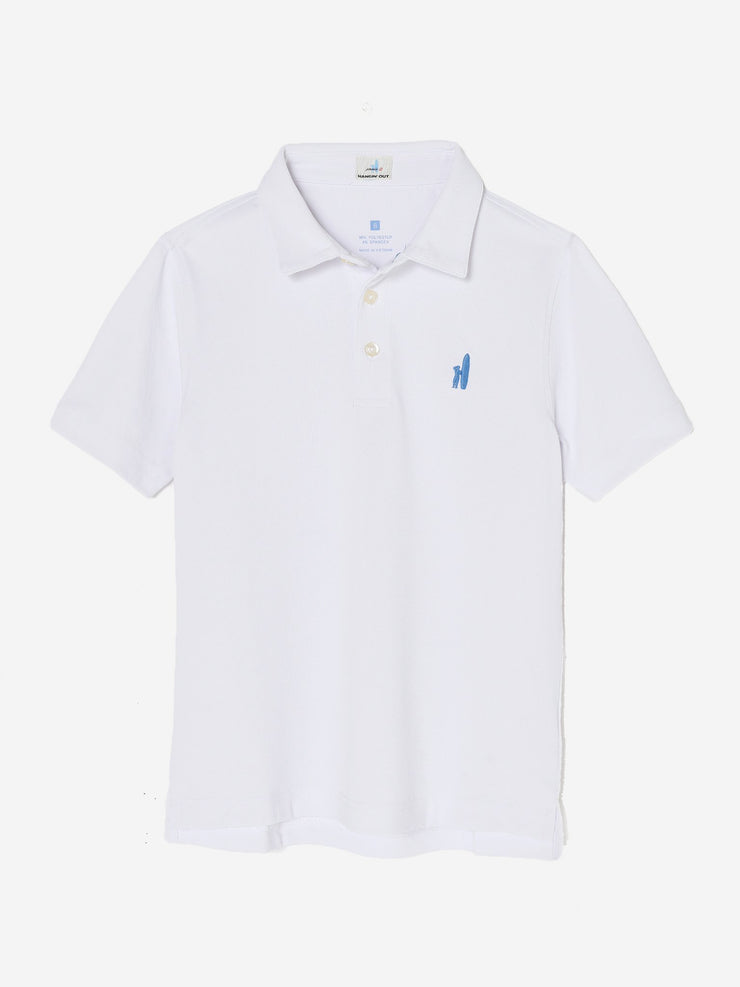 FAIRWAY JR. PREP-FORMANCE POLO SHIRT FOR KIDS