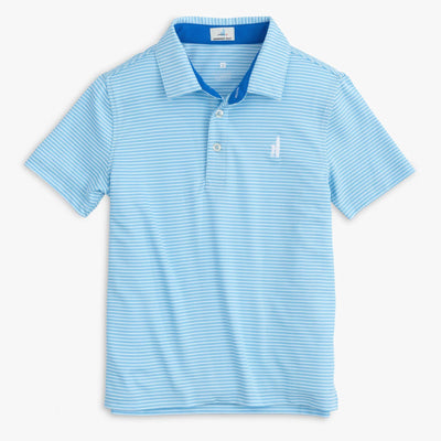 MERRINS STRIPED JR. POLO SHIRT FOR KIDS